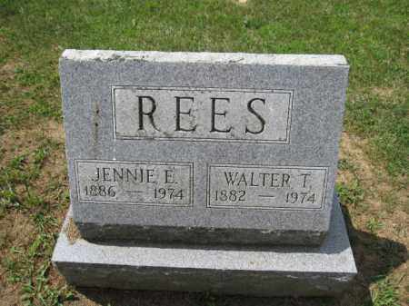 REES, JENNIE E. - Union County, Ohio | JENNIE E. REES - Ohio Gravestone Photos