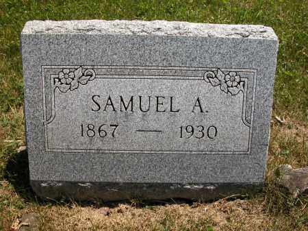 RHODES, SAMUEL A. - Union County, Ohio | SAMUEL A. RHODES - Ohio Gravestone Photos