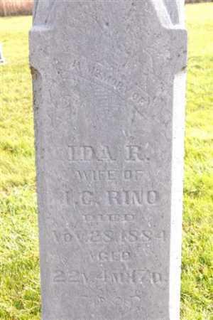 RINO, IDA R. - Union County, Ohio   IDA R. RINO - Ohio Gravestone Photos
