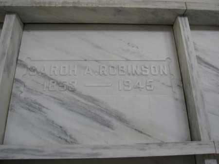 ROBINSON, SAROH A. - Union County, Ohio | SAROH A. ROBINSON - Ohio Gravestone Photos