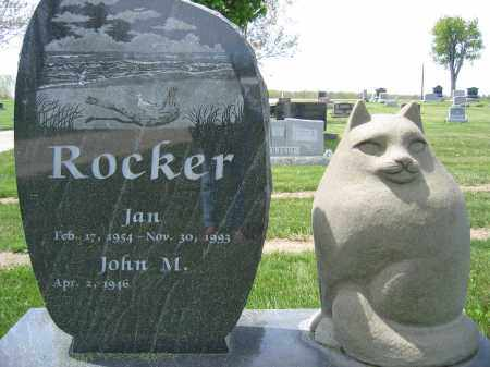 ROCKER, JAN - Union County, Ohio | JAN ROCKER - Ohio Gravestone Photos