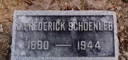 SCHOENLEB, J FREDERICK - Union County, Ohio   J FREDERICK SCHOENLEB - Ohio Gravestone Photos