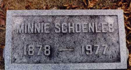 SCHOENLEB, MINNIE - Union County, Ohio | MINNIE SCHOENLEB - Ohio Gravestone Photos