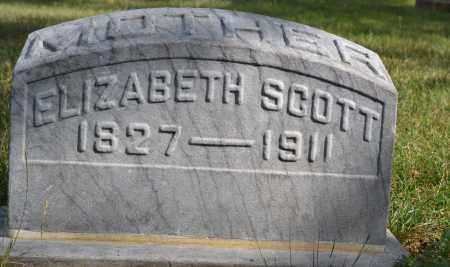 SCOTT, ELIZABETH - Union County, Ohio   ELIZABETH SCOTT - Ohio Gravestone Photos