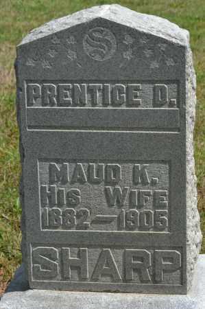 SHARP, PRENTICE D. - Union County, Ohio | PRENTICE D. SHARP - Ohio Gravestone Photos