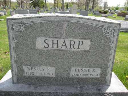 SHARP, WESLEY SHELMAN - Union County, Ohio   WESLEY SHELMAN SHARP - Ohio Gravestone Photos