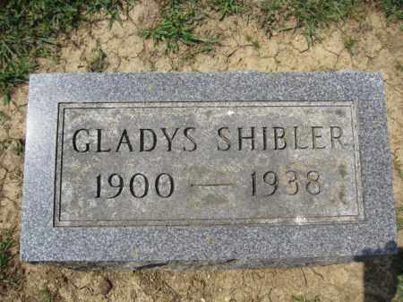SHIBLER, GLADYS - Union County, Ohio | GLADYS SHIBLER - Ohio Gravestone Photos