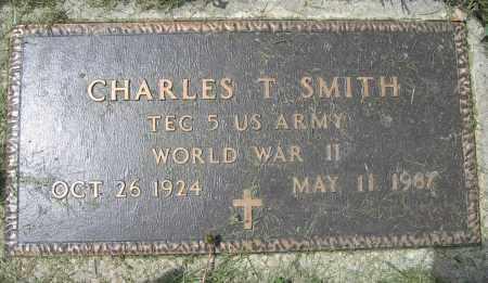 SMITH, CHARLES T. - Union County, Ohio   CHARLES T. SMITH - Ohio Gravestone Photos