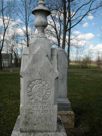 SMITH, EDWARD - Union County, Ohio   EDWARD SMITH - Ohio Gravestone Photos