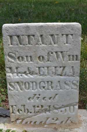 SNODGRASS, INFANT SON - Union County, Ohio   INFANT SON SNODGRASS - Ohio Gravestone Photos