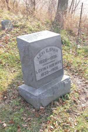 SPAIN, LEVI E. - Union County, Ohio   LEVI E. SPAIN - Ohio Gravestone Photos