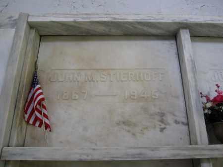 STIERHOFF, JOHN M. - Union County, Ohio   JOHN M. STIERHOFF - Ohio Gravestone Photos