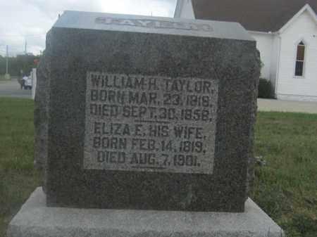 TAYLOR, ELIZA E. - Union County, Ohio   ELIZA E. TAYLOR - Ohio Gravestone Photos