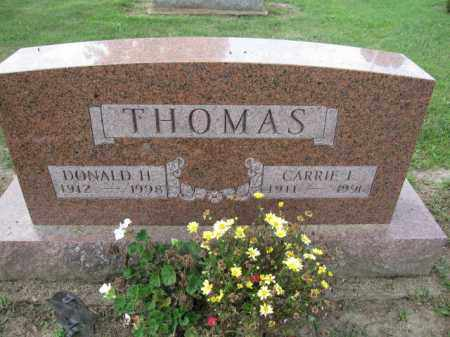 THOMAS, CARRIE L. - Union County, Ohio | CARRIE L. THOMAS - Ohio Gravestone Photos