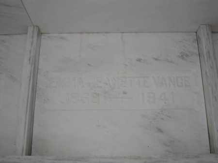 VANCE, EMMA JEANETTE - Union County, Ohio   EMMA JEANETTE VANCE - Ohio Gravestone Photos