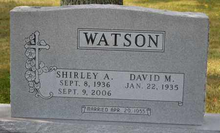 WATSON, DAVID M. - Union County, Ohio   DAVID M. WATSON - Ohio Gravestone Photos