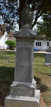 WISE, ANTHONY - Union County, Ohio   ANTHONY WISE - Ohio Gravestone Photos
