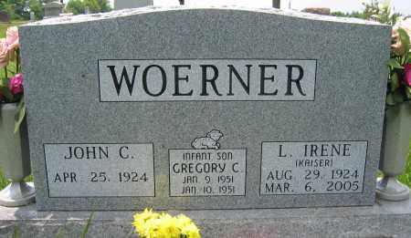 WOERNER, L. IRENE - Union County, Ohio | L. IRENE WOERNER - Ohio Gravestone Photos