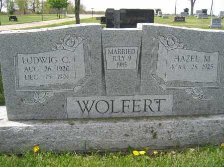 WOLFERT, LUDWIG C. - Union County, Ohio | LUDWIG C. WOLFERT - Ohio Gravestone Photos