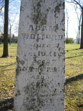 WOLFORD, ADAM - Union County, Ohio   ADAM WOLFORD - Ohio Gravestone Photos