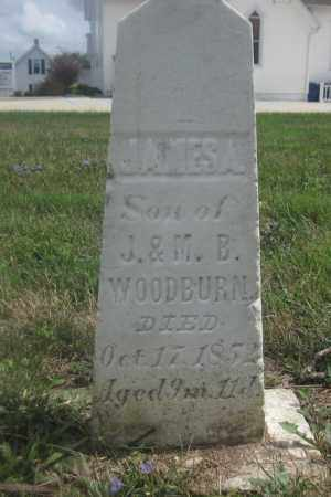 WOODBURN, JAMES A. - Union County, Ohio | JAMES A. WOODBURN - Ohio Gravestone Photos