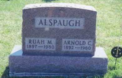 ALSPAUGH, ARNOLD CASIMERE - Van Wert County, Ohio | ARNOLD CASIMERE ALSPAUGH - Ohio Gravestone Photos