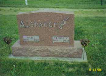 ALSPAUGH, NED J. - Van Wert County, Ohio | NED J. ALSPAUGH - Ohio Gravestone Photos