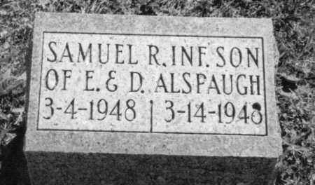 ALSPAUGH, SAMUEL RICHARD - Van Wert County, Ohio | SAMUEL RICHARD ALSPAUGH - Ohio Gravestone Photos