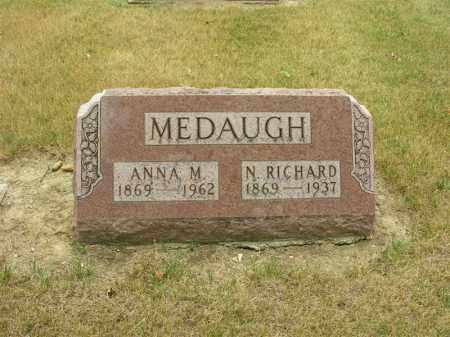 MEDAUGH, ANNA M. - Van Wert County, Ohio | ANNA M. MEDAUGH - Ohio Gravestone Photos