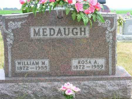 MEDAUGH, ROSA A. - Van Wert County, Ohio | ROSA A. MEDAUGH - Ohio Gravestone Photos