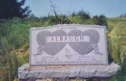 ALBAUGH, VIOLET P. - Vinton County, Ohio   VIOLET P. ALBAUGH - Ohio Gravestone Photos