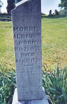 ALBAUGH, MORRIS - Vinton County, Ohio | MORRIS ALBAUGH - Ohio Gravestone Photos