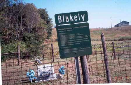 BLAKELY, SIGN - Vinton County, Ohio   SIGN BLAKELY - Ohio Gravestone Photos