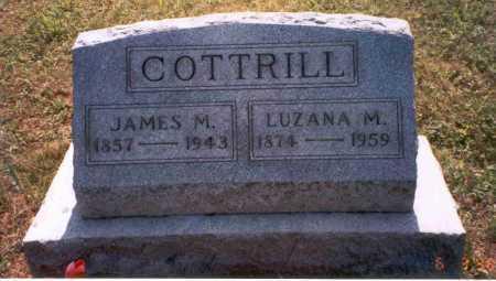 BOWEN COTTRILL, LUZANA M. - Vinton County, Ohio | LUZANA M. BOWEN COTTRILL - Ohio Gravestone Photos