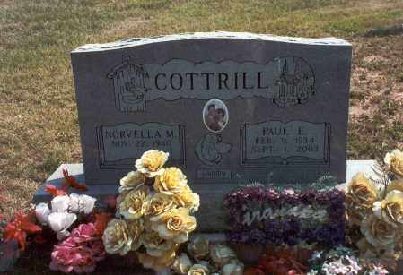 COTTRILL, PAUL E. - Vinton County, Ohio | PAUL E. COTTRILL - Ohio Gravestone Photos
