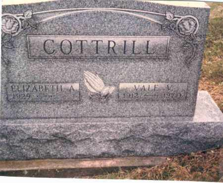 TEDROW COTTRILL, BETTY - Vinton County, Ohio | BETTY TEDROW COTTRILL - Ohio Gravestone Photos