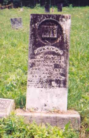 DARBY, CHARITY - Vinton County, Ohio | CHARITY DARBY - Ohio Gravestone Photos