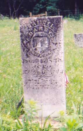 DARBY, SAMUEL - Vinton County, Ohio | SAMUEL DARBY - Ohio Gravestone Photos