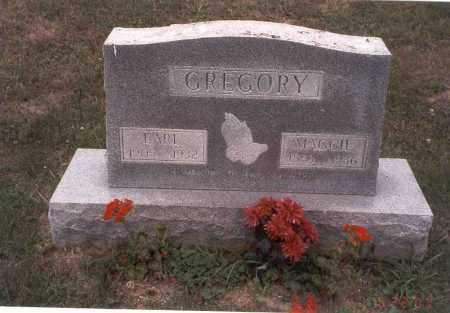 GREGORY, EARL RAYMOND - Vinton County, Ohio | EARL RAYMOND GREGORY - Ohio Gravestone Photos