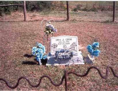 GRIM, ORA J. - Vinton County, Ohio   ORA J. GRIM - Ohio Gravestone Photos