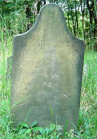 KALER, FREDERICK - Vinton County, Ohio | FREDERICK KALER - Ohio Gravestone Photos
