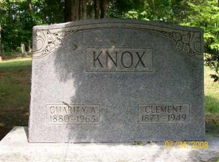 KNOX, CLEMENT - Vinton County, Ohio | CLEMENT KNOX - Ohio Gravestone Photos