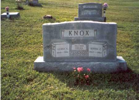 KNOX, GEORGE A. - Vinton County, Ohio   GEORGE A. KNOX - Ohio Gravestone Photos
