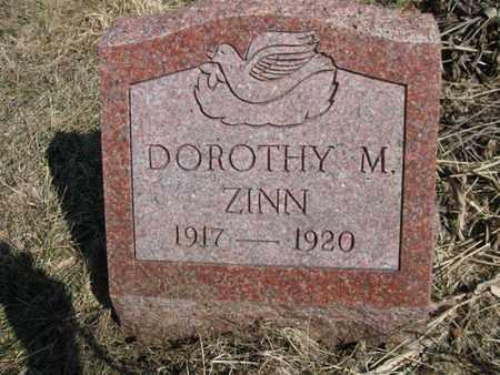 ZINN, DOROTHY MAE - Vinton County, Ohio   DOROTHY MAE ZINN - Ohio Gravestone Photos
