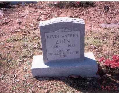 ZINN, KEVIN WARREN - Vinton County, Ohio   KEVIN WARREN ZINN - Ohio Gravestone Photos