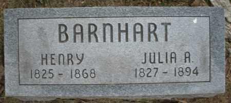 BARNHART, JULIA A. - Warren County, Ohio | JULIA A. BARNHART - Ohio Gravestone Photos