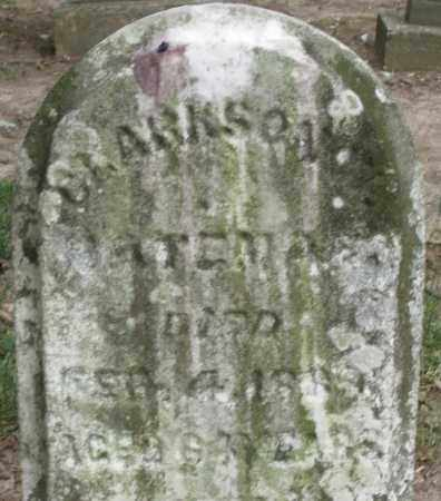 BATEMAN, CLARKSON - Warren County, Ohio   CLARKSON BATEMAN - Ohio Gravestone Photos