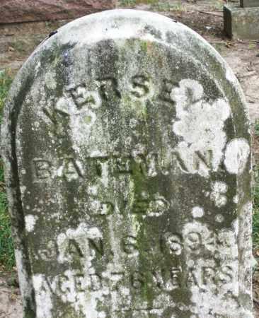 BATEMAN, KERSEY - Warren County, Ohio   KERSEY BATEMAN - Ohio Gravestone Photos