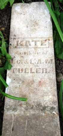 FULLER, KATE - Warren County, Ohio | KATE FULLER - Ohio Gravestone Photos