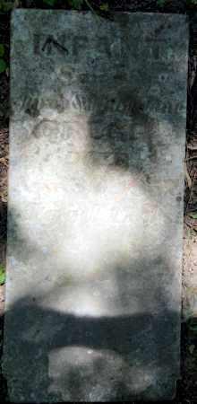 GREGG, INFANT SON - Warren County, Ohio | INFANT SON GREGG - Ohio Gravestone Photos